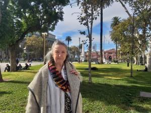 Cecília em Buenos Aires 2 por Poliana